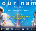 YourName, locandina italiana del film di Makoto Shinkai