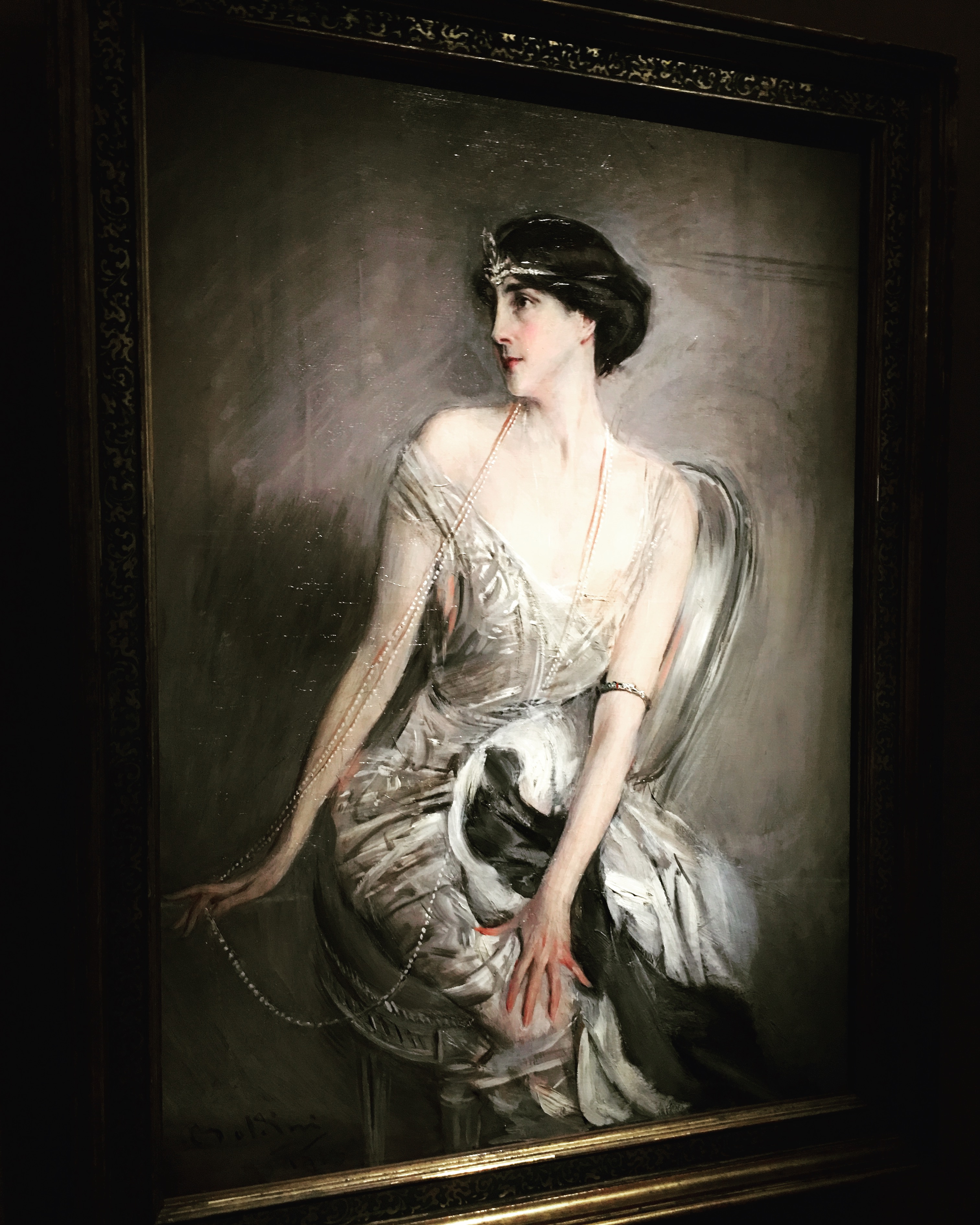 Giovanni Boldini, Madame G Bumenthal, 1896