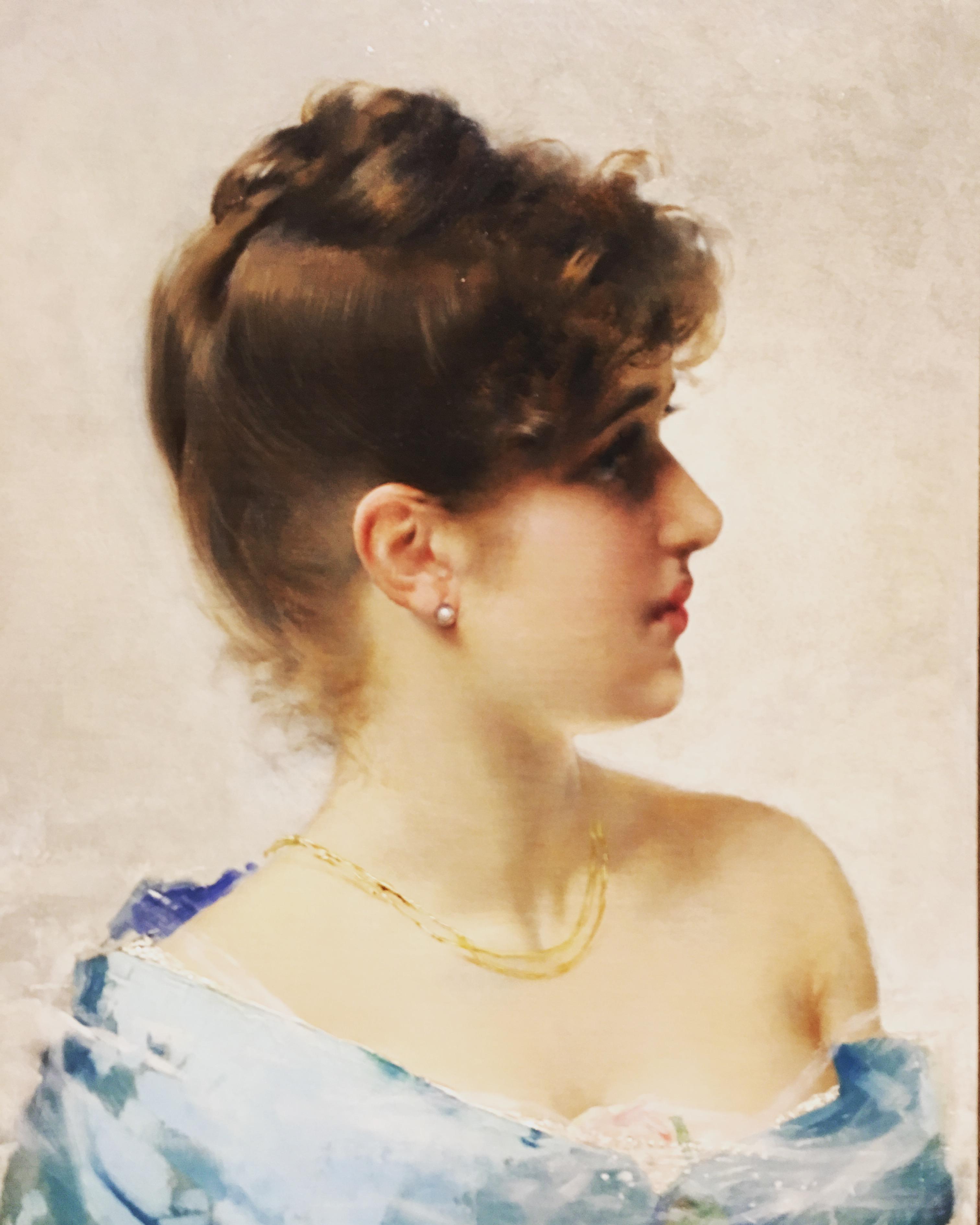 Giovanni Boldini, Ragazza con l'orecchino di perla