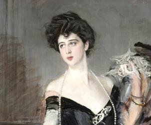 Giovanni Boldini, Donna Franca Florio; La baronesa Franca Florio Jacona de San Giuliano, 1924