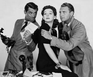 L'amico di tutti - www.mockupmagazine.it (Cary Grant, Rosalind Russell e Ralph Bellamy)