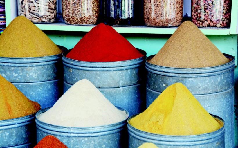 Marrakech, specie (Pic by evafelizitas, Pixabay.com)