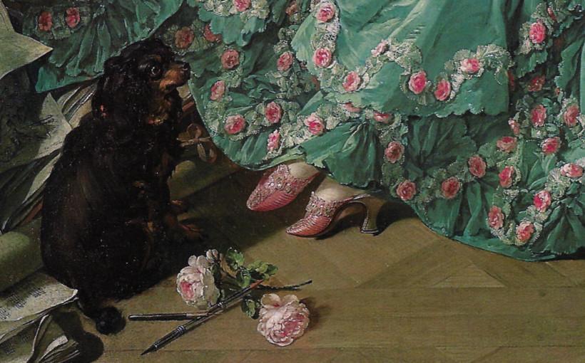 Madame de Pompadour ritratta da François Boucher nel 1756, Alte Pinakothek-Monaco di Baviera
