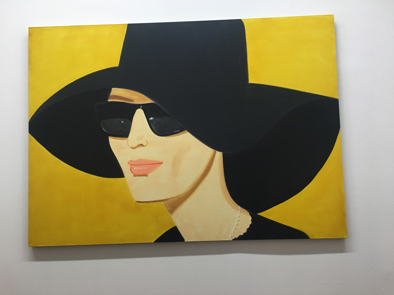 Alex Katz, Black Hat 2, 2010, Collezione Batliner, Albertina Museum, Vienna