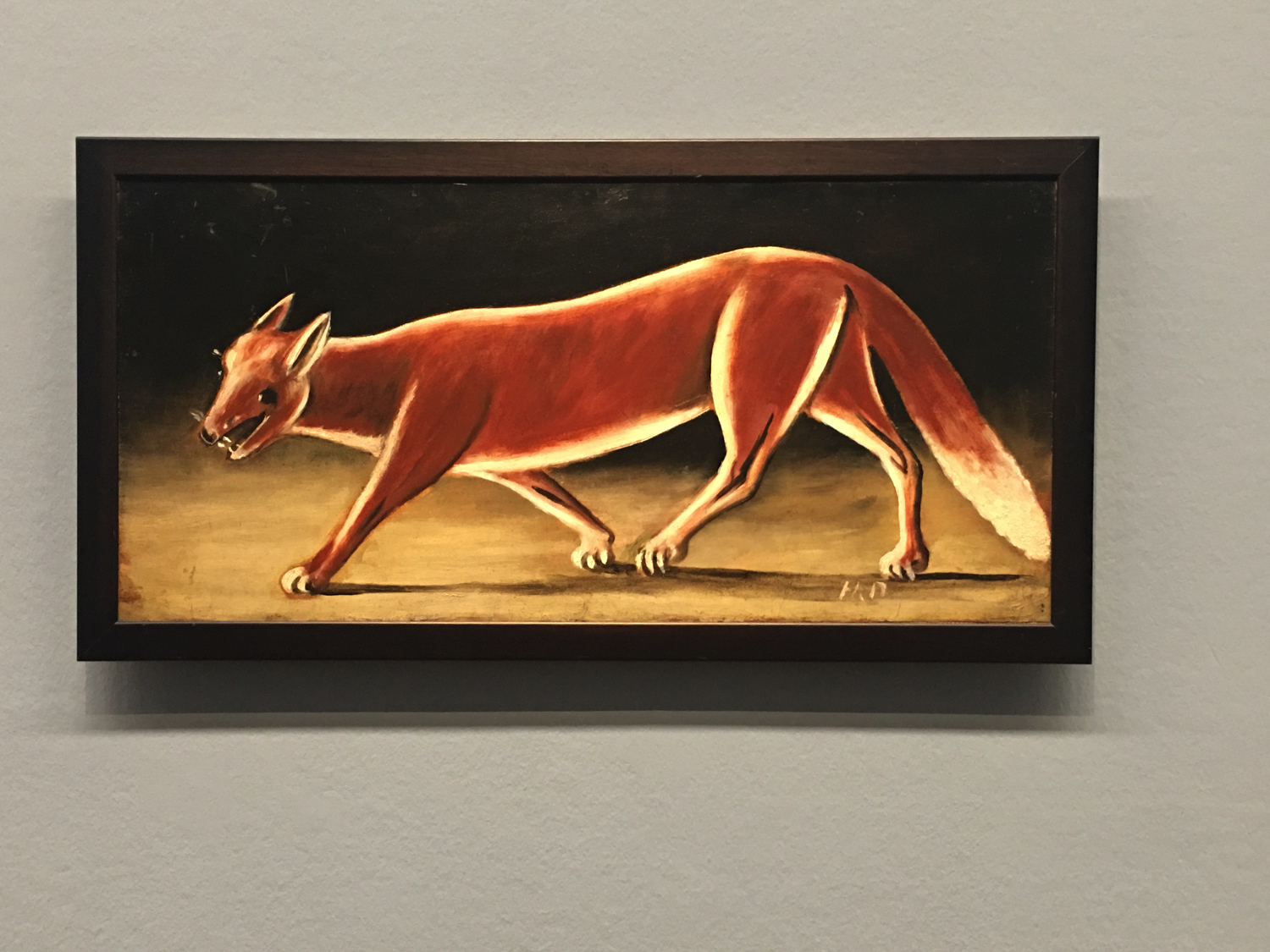 Niko Pirosmani, Fox, Georgian National Museum