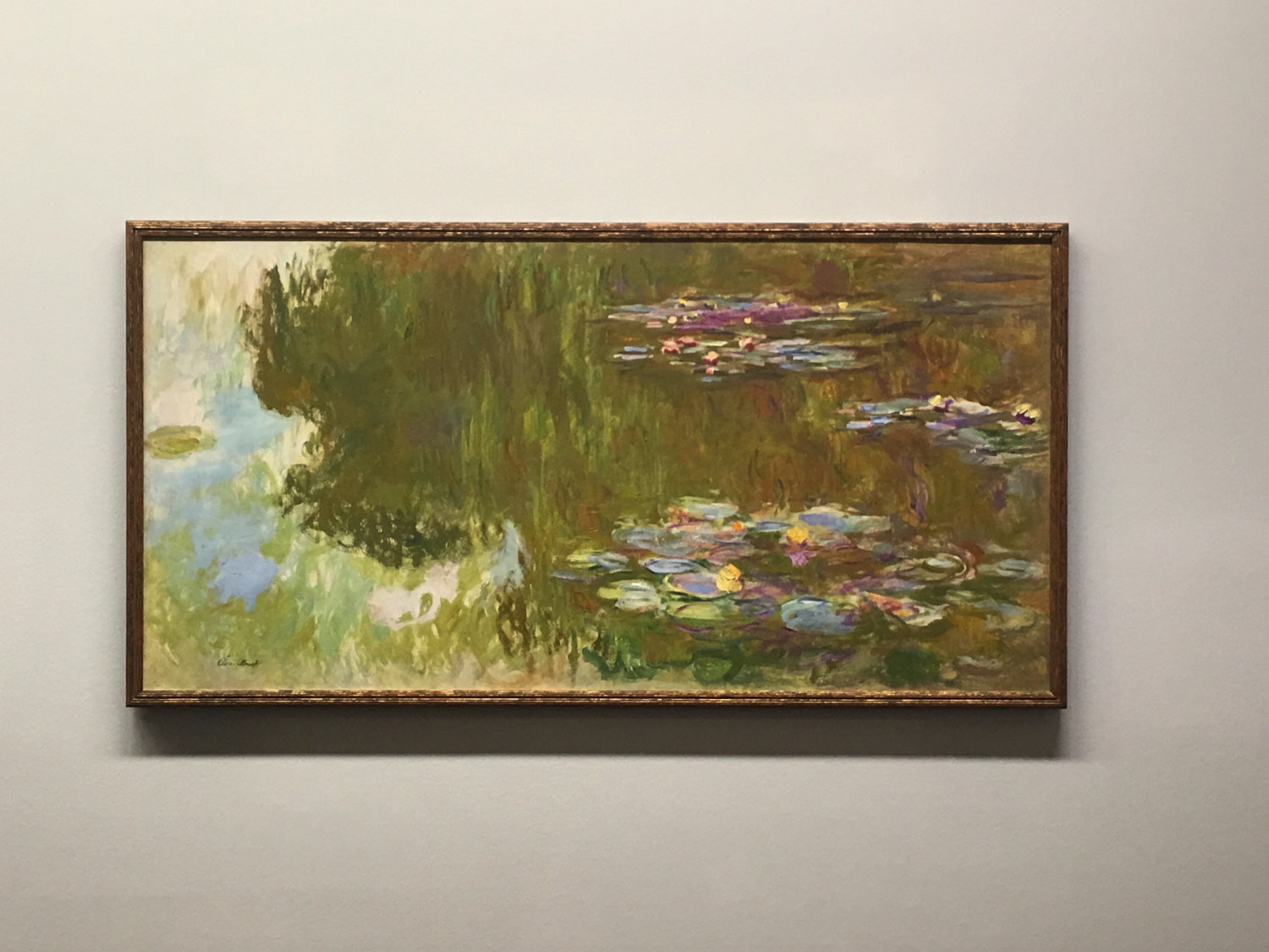 Claude Monet, The Water Lily Pond, 1917-1919, Collezione Batliner, Albertina Museum, Vienna
