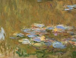 Water lily pond by Monet, Albertina Museum, Vienna