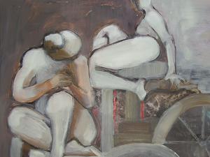 En la fuente, copertina de La Fontana di Andrés Pociña, Il Sextante, opera di Ana Maria Erra