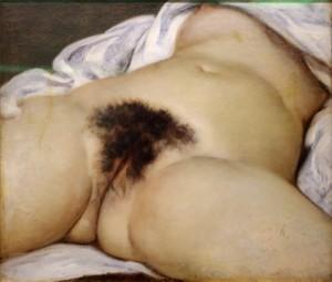 L'Origine du monde, Gustave Courbet, Musée d'Orsay, Paris