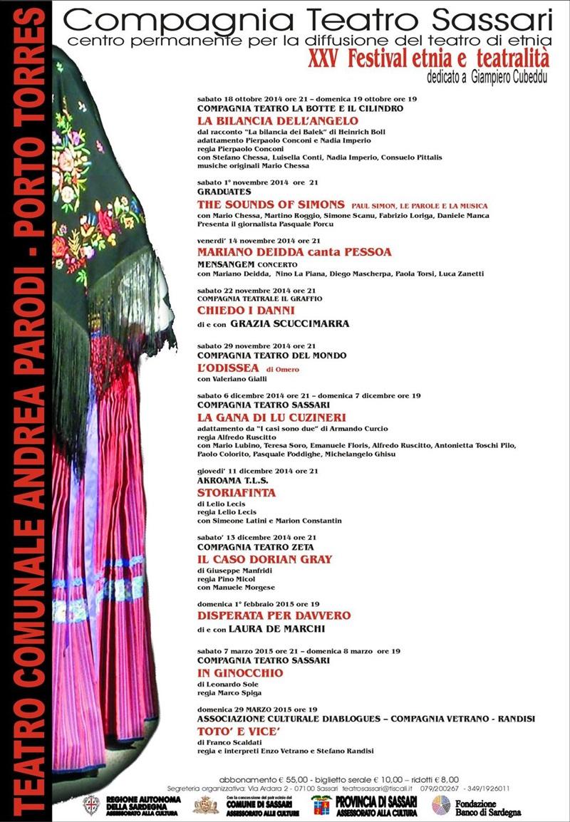 XXV Festival Etnia e Teatralità