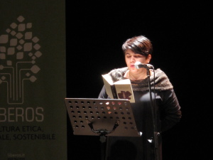 Gli scrittori sardi ricordano Sergio Atzeni, Cagliari, Teatro Massimo, Michela Murgia, 12 gennaio 2015