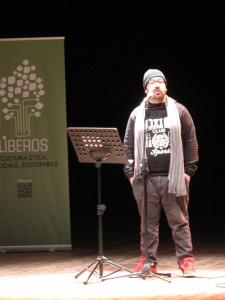 Gli scrittori sardi ricordano Sergio Atzeni, Cagliari, Teatro Massimo, Manuelle Mureddu, 12 gennaio 2015