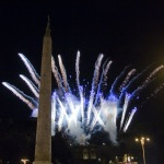 Carnevale romano, Fuochi d'artificio, Photo by Stefania Arangio