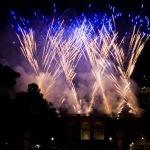 Carnevale romano, Fuochi d'artificio, Photo by Stefania Arangio