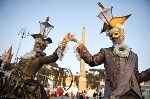 Carnevale romano, photo by Robbi Huner