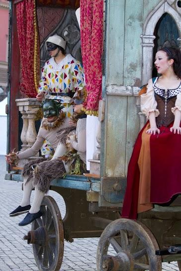Carnevale romano, Maschere della Commedia dee''Arte, Photo by Barbara Roppo