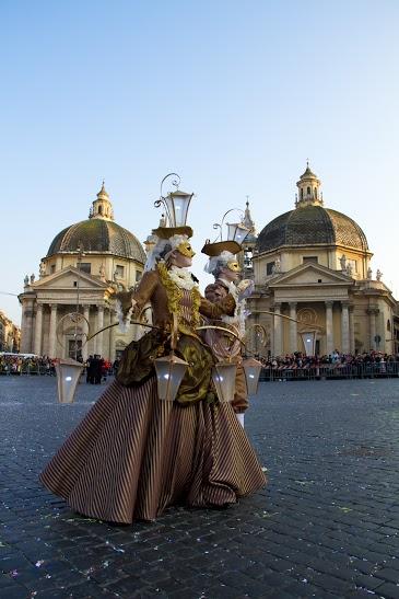 Carnevale romano, sfilata, Photo by Barbara Roppo