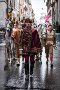 Carnevale romano, Sfilata, Photo by Barbara Roppo