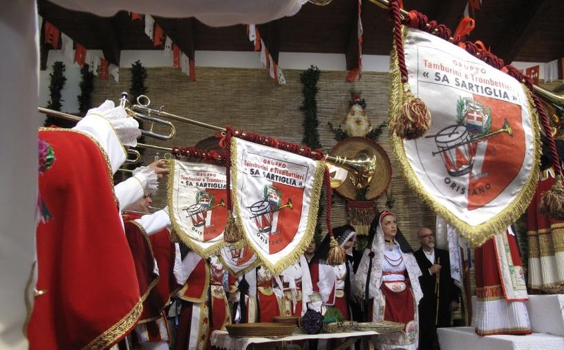Sa Sartiglia, Trombettieri in occasione della vestizione de Su Componidori del Gremio dei Contadini, 2013 (Photo di Duranti©)