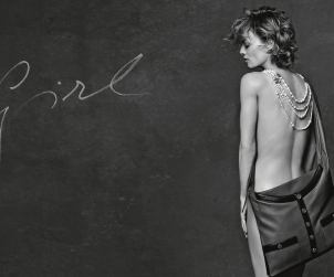 Girl Bag, Vanessa Paradis by Karl Lagerfeld for CHANEL©