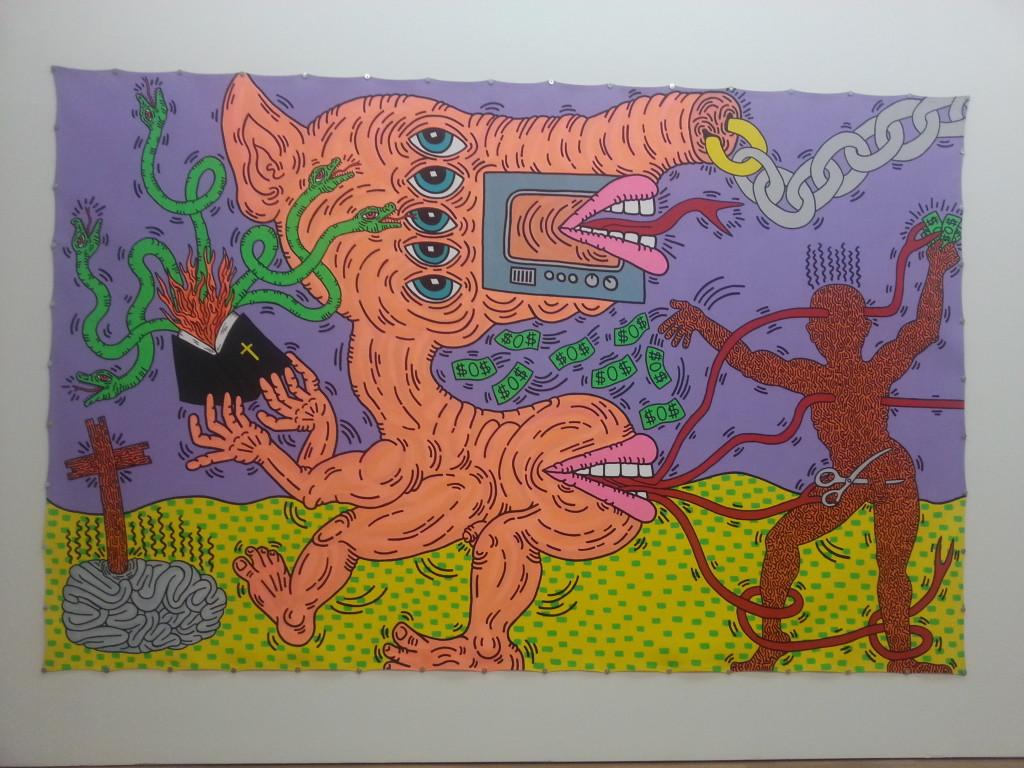 Keath Haringh, Gegen den Strich, Kunsthalle, Monaco