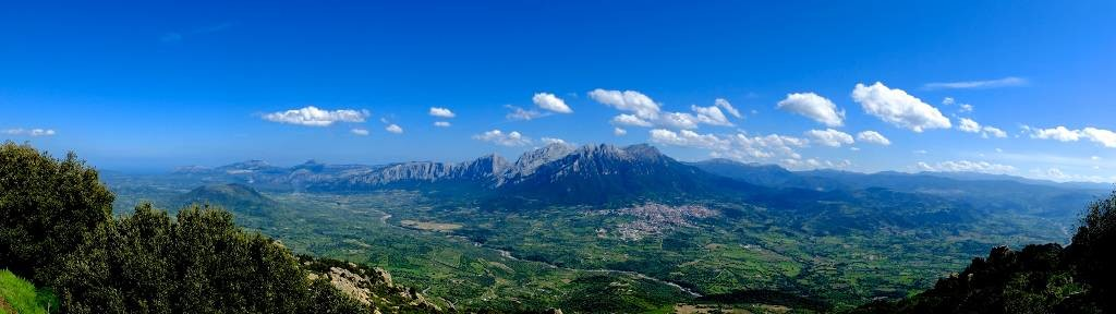 Panorama dal Monte Ortobene, Nuoro, Fotografia di Marcello Treglia©