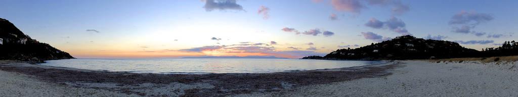 Panoramica della spiaggia di Cann'e Sisa a Torre delle Stelle (Cagliari), Fotografia di Marcello Treglia©