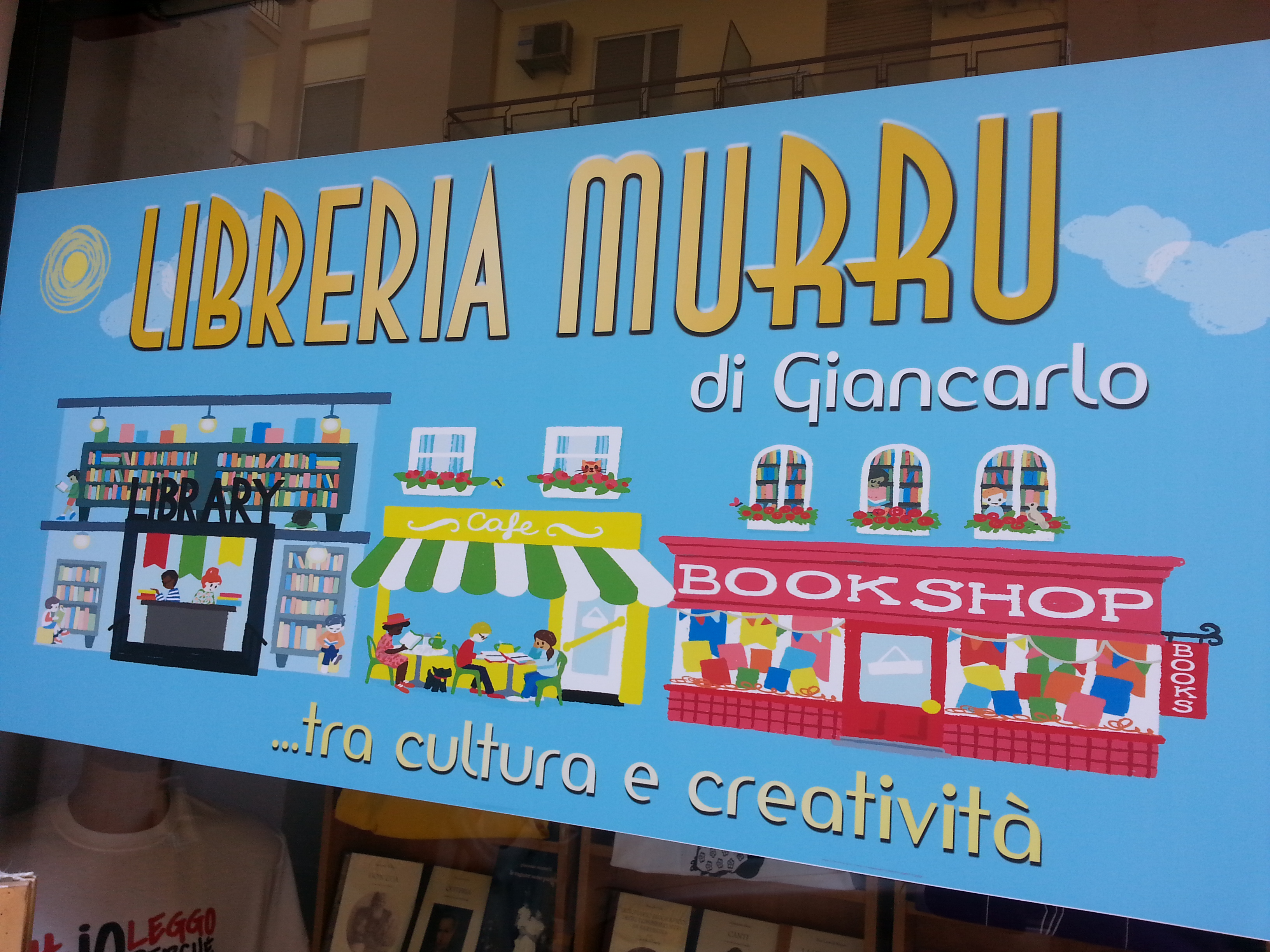 Libreria Murru. Restyling per una nuova avventura