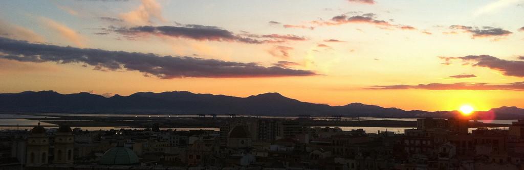 Cagliari, veduta della città dal Bastione di Santa Croce, Foto di Andrea Duranti©