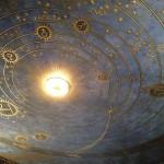 Villa Stuck, soffitto raffigurante la volta celeste (Pic by Duranti©)