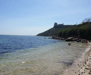 Cagliari, spiaggetta di Calamosca