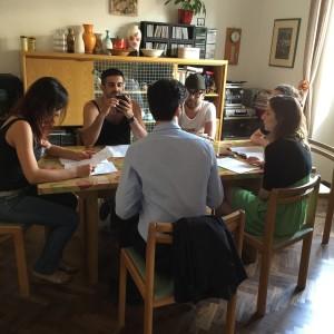 #Connessi, il cast studia il copione - All rights reserved