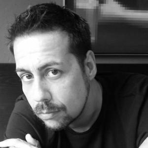 """Matteo Tuveri, autore del libro """"Pioggia inversa. Storia dei Diavolo e un precario"""""""