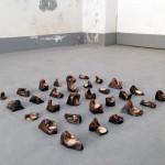 Eracle Dartizio, Pozzanghere, Galleria Toselli 2014