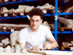 Eracle Dartizio, profilo, foto di Francesco Pizzo, presso Fonderia Artistica Battaglia, Milano