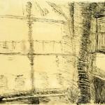"Paul Klee, ""Fenesterke"", Angolo con finestra, 1910."