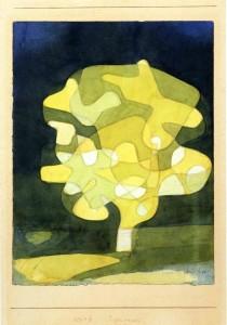 "Paul Klee, ""Feigenbaum"" (Il Fico, 1929)."