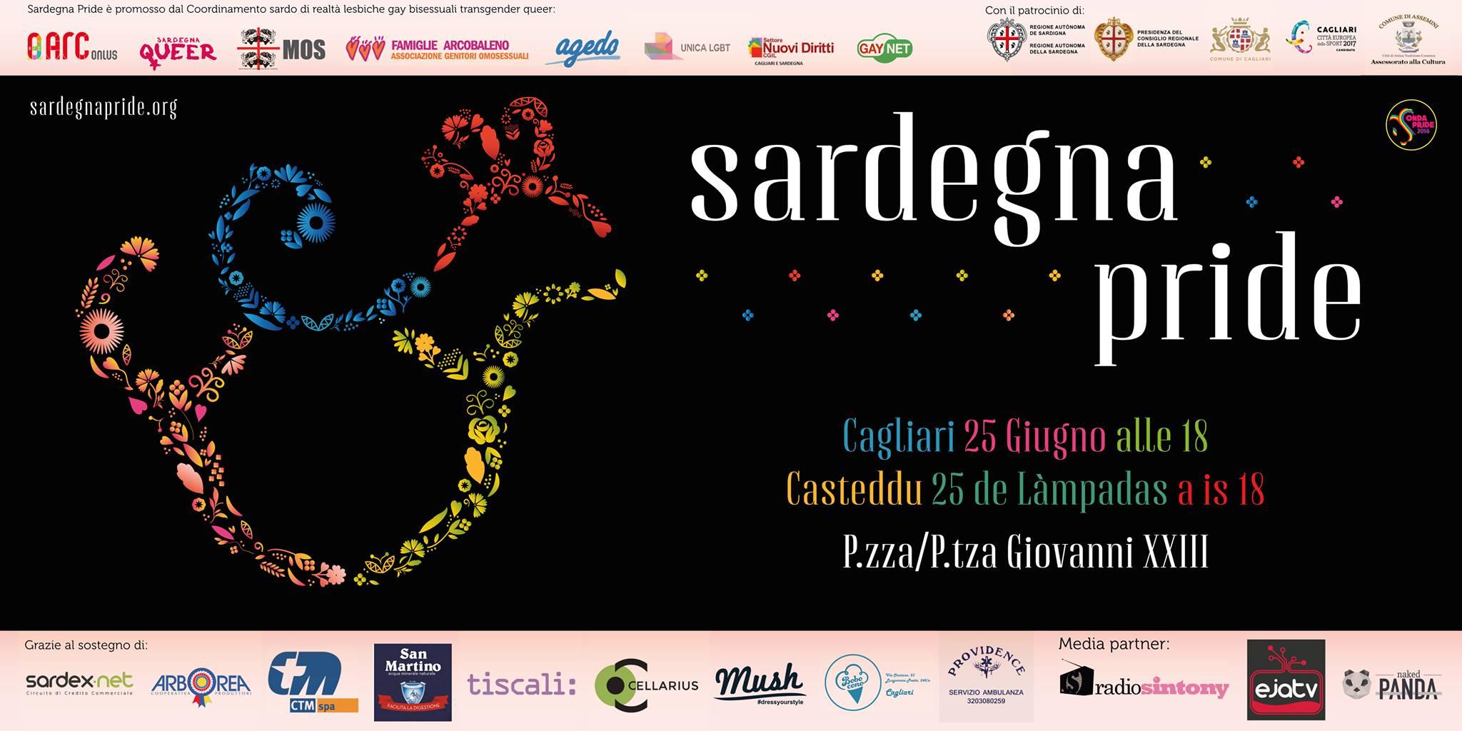 """Il Sardegna Pride è """"Fa-vo-lo-so"""""""