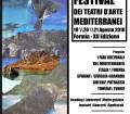 Formia, XII Festival dei Teatri d'Arte Mediterranei, locandina.