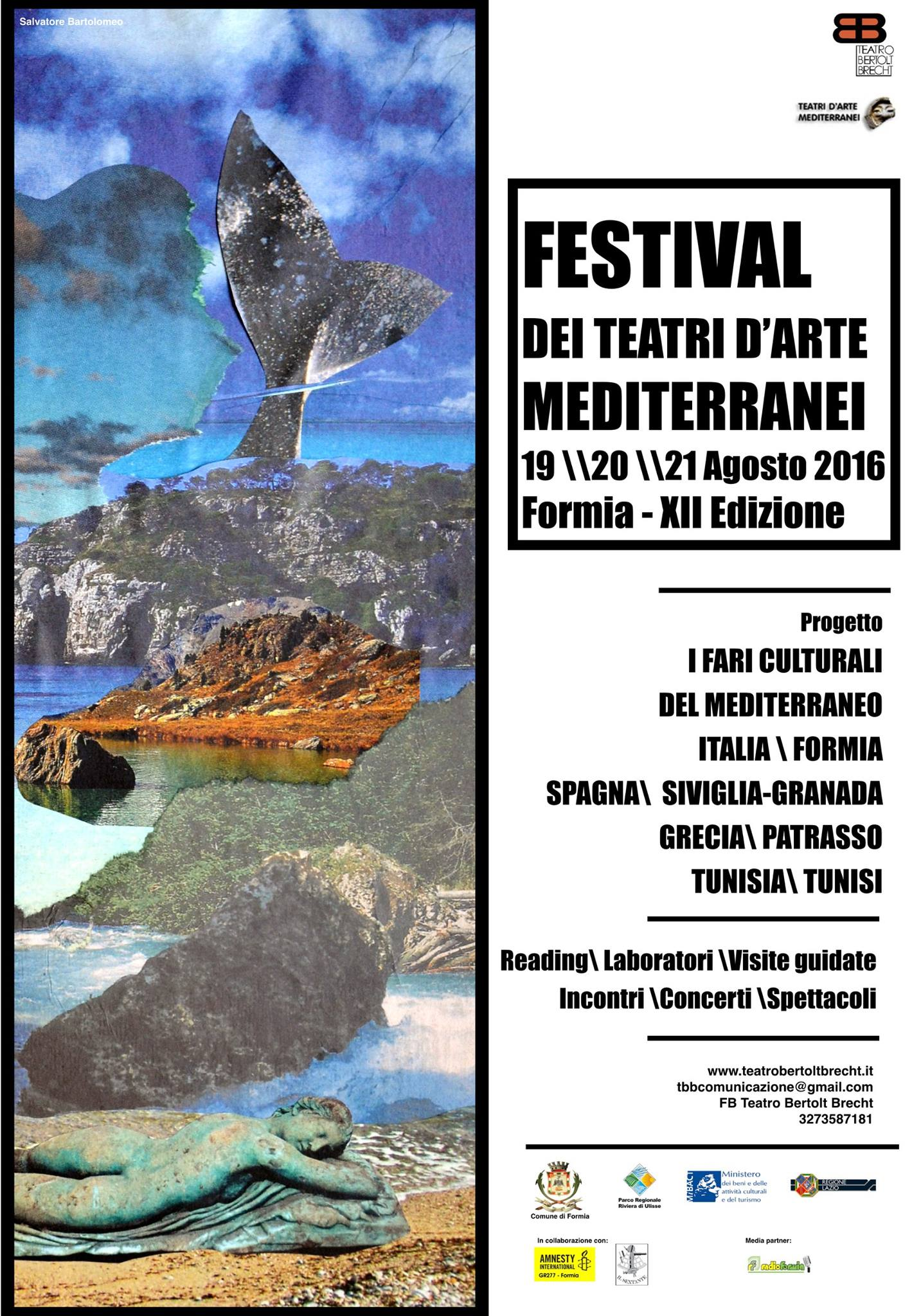 Formia, XII Festival dei Teatri d'Arte Mediterranei
