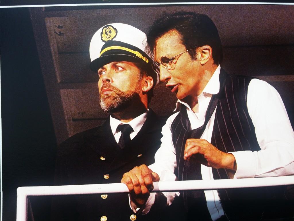 Bruno Grassini interpreta Thomas Andrews in Titanic