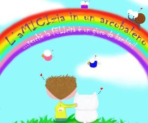 L' aMICIzia in un arcobaleno, Veronica Spataro (illustrazione di PsycoLaurina©)