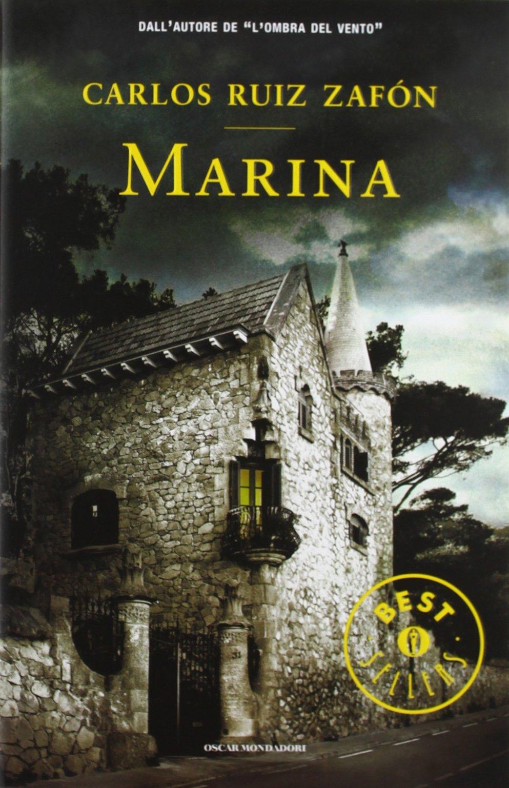 Marina, Carlos Ruiz Zafón (copertina del libro, Mondadori, 2009)