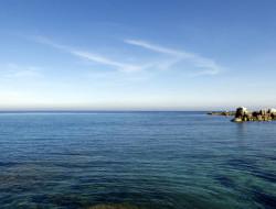 Il mare di Villasimius nello scatto di Marcello Treglia