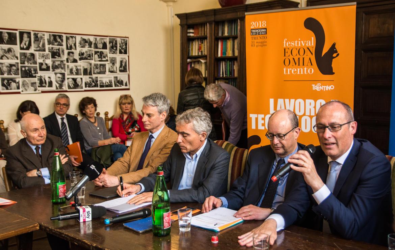Festival dell'Economia di Trento. L'essere umano al centro.