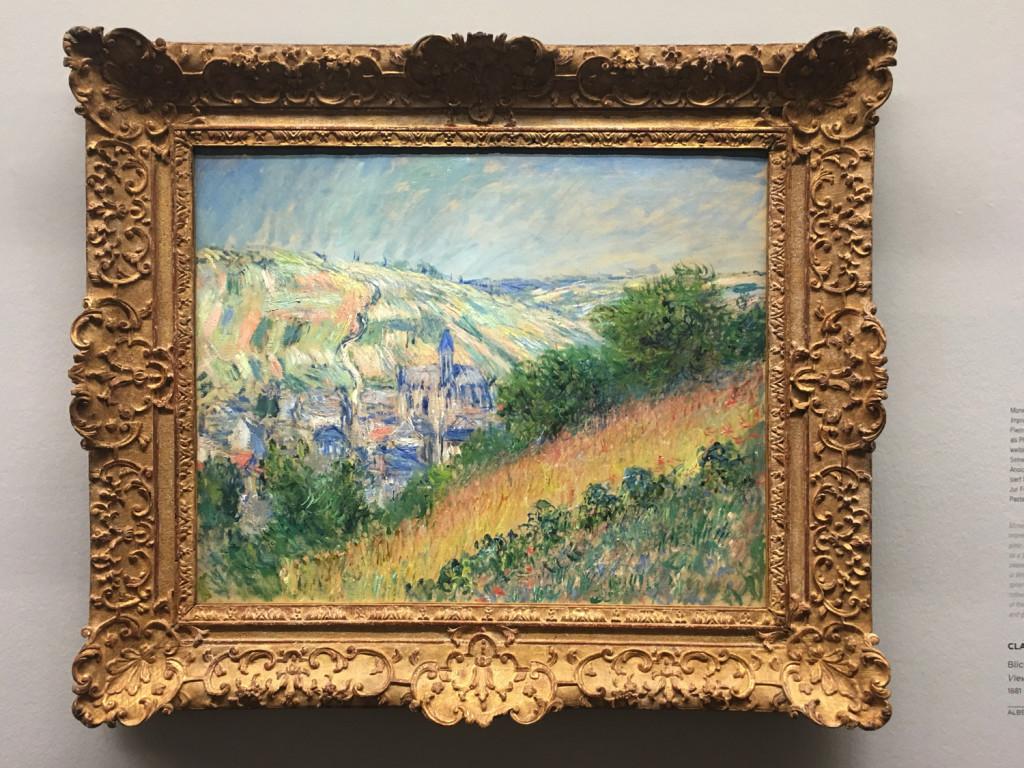Claude Monet, Vista su Vètheuil, 1881, Collezione Batliner,  Albertina Museum, Vienna