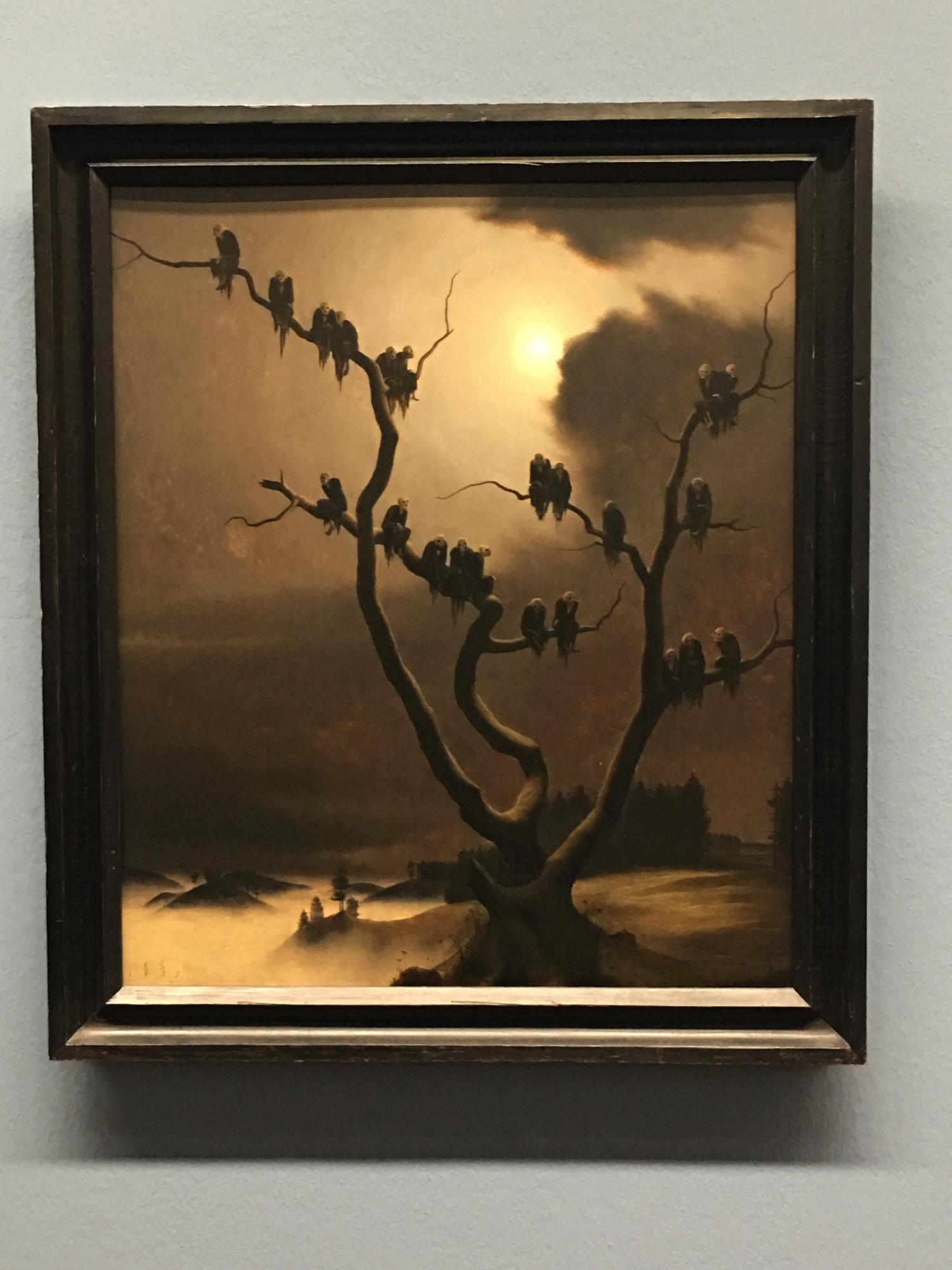 Franz Sedlacek, Ghosts in the Tree, 1933, Albertina Museum, Vienna