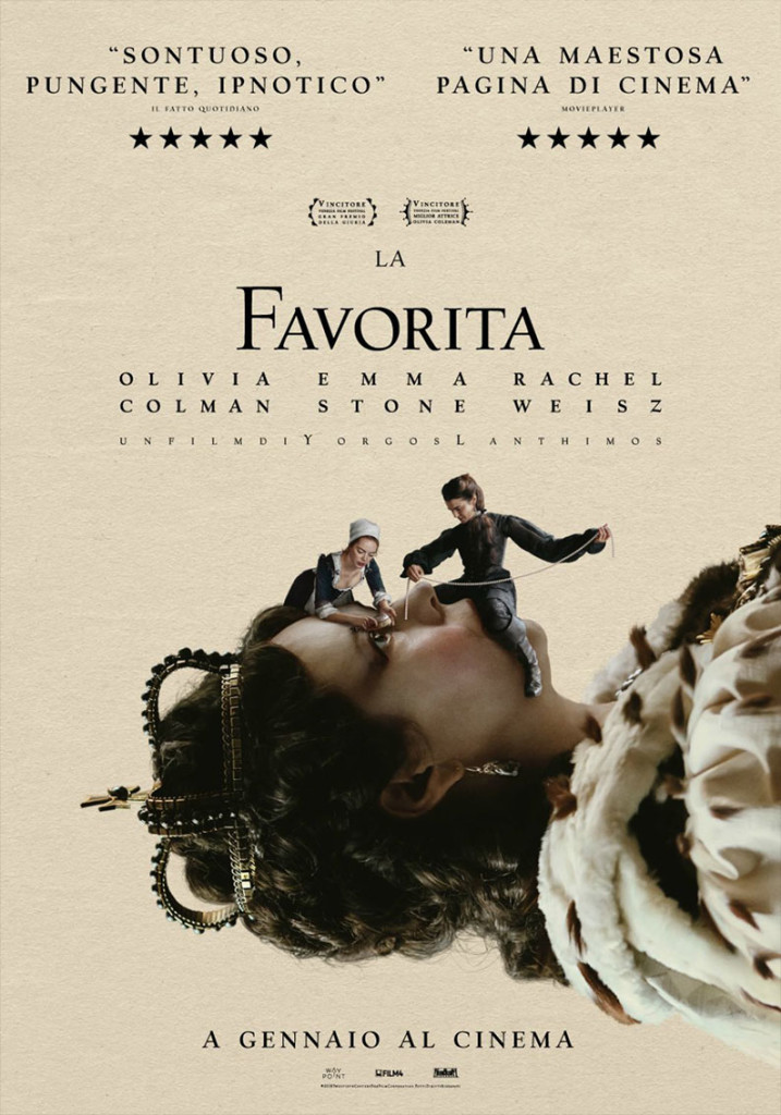 La favorita, un film di Yorgos Lanthimos, Element Pictures, Scarlet Films, Film4, Waypoint Entertainment - recensione di Matteo Tuveri su www.mockupmagazine.it