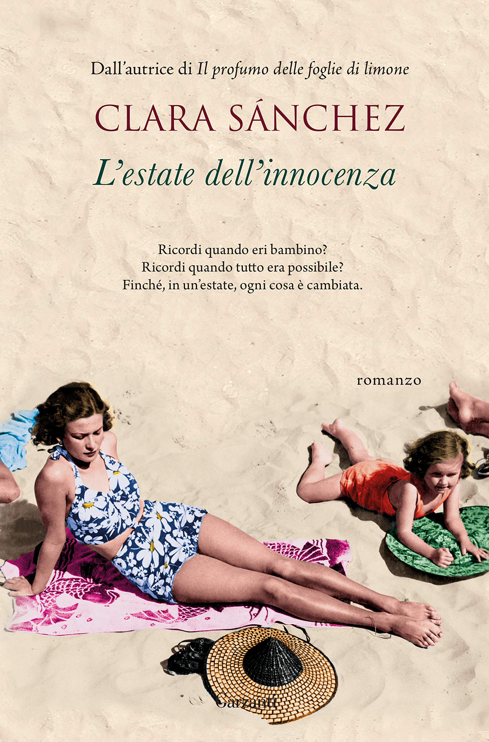 Estate dell'innocenza, Clara Sanchez, Garzanti - www.mockupmagazine.it