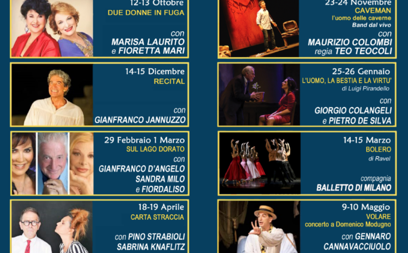 Teatro Villoresi di Monza, Stagione 2019-2020 - www.mockupmagazine.it